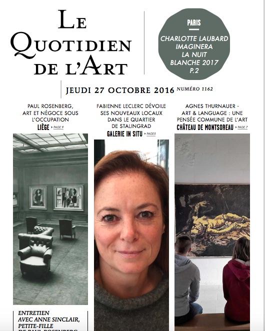 Representation of Le Quotidien de l'Art