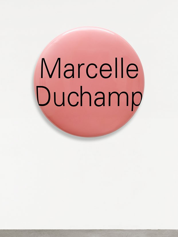 Representation of Portrait Grandeur Nature (Marcelle Duchamp)