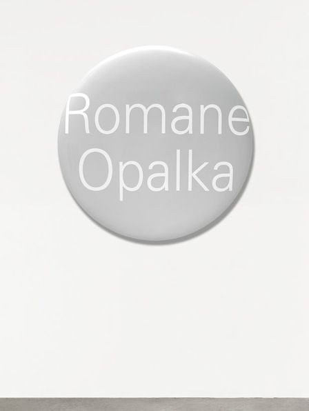 Representation of Portrait Grandeur Nature (Romane Opalka)